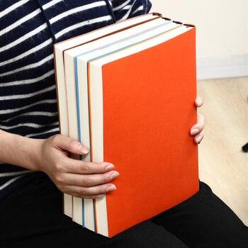 2020 блокнот очень большой толстый А4 мягкий блокнот офисный канцелярский бизнес блокнот дневник может быть настроен логотип
