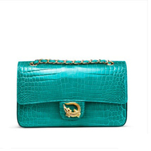 ouluoer 2019 new Nile crocodile skin  Chain single shoulder bag made by hand from leather underarm women handbag