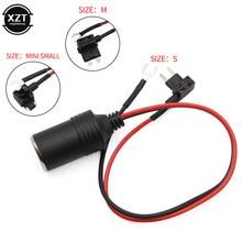 Czysta miedź zapalniczka samochodowa kabel do ładowarki kobiet gniazdo wtykowe kabel Adapter bezpiecznik