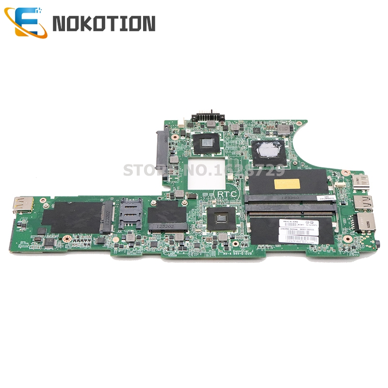 NOKOTION 04W0256 04W0255 DAFL6AMB8D0 For Lenovo ThinkPad Edge E10 Laptop Motherboard DDR3 CPU Onboard