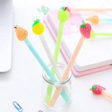 10 Pcs Cute Cartoon Pen Quality Office Lovely Students Gel Stationary Wholesale