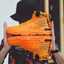 YRRFUOT 2019 jesień nowe wysokie góry męskie buty na co dzień marki mody wygodne adidasy mężczyźni wysokiej jakości oryginalny Trend mężczyźni buty