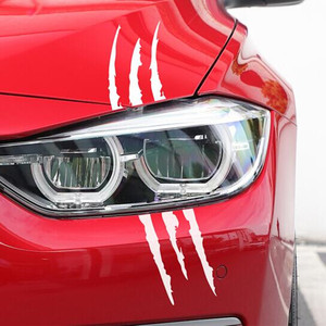 Image 3 - Hot Car Monster Claw Scratch Decal Stickers Car Styling For Ford Focus Kuga Fiesta Ecosport Mondeo Escape Explorer Edge Mustang