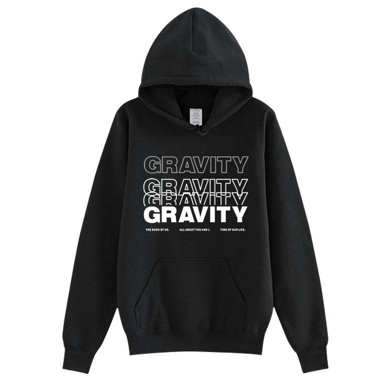 Keep Day6 World Tour Gravity Same Printing Pullover Loose Hoodies Unisex Fleece/thin K-pop Sweatshirt 3 Colors