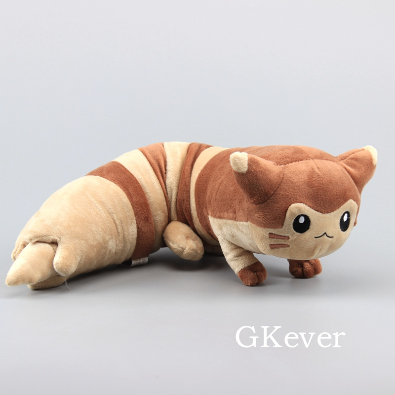 Lenght 48 CM Anime Sentret Furret Peluche Cute Cat Stuffed Aniaml Plush Toys Doll Pillow Women Kids Birthday Gift
