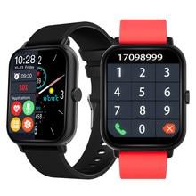 2021 Smart Watch Men Sport Watches Women Digital Wristwatches Blood Pressure Oxy Bluetooth Call Smartwatch A20 Fitness Tracker