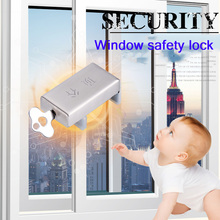 Safety-Lock Sliding Window-Lock Screen Aluminum-Alloy Limiter Anti-Theft And Child-Protection