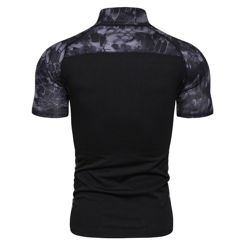Daiwa, камуфляжная рубашка для рыбалки, футболка с коротким рукавом, мужские топы на молнии, Мужская Уличная одежда, футболка для рыбалки, Спортивная, тактическая, летняя