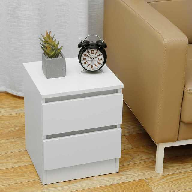Nightstand w/ Two Drawers 5