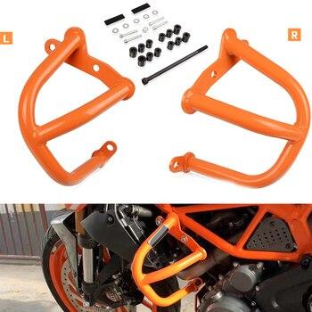 For KTM 390Duke 250Duke 2014 2015 2016 2017 2018 2019 DUKE 390 250 1pair Motorcycle Accessories Engine Guard Frame Protection