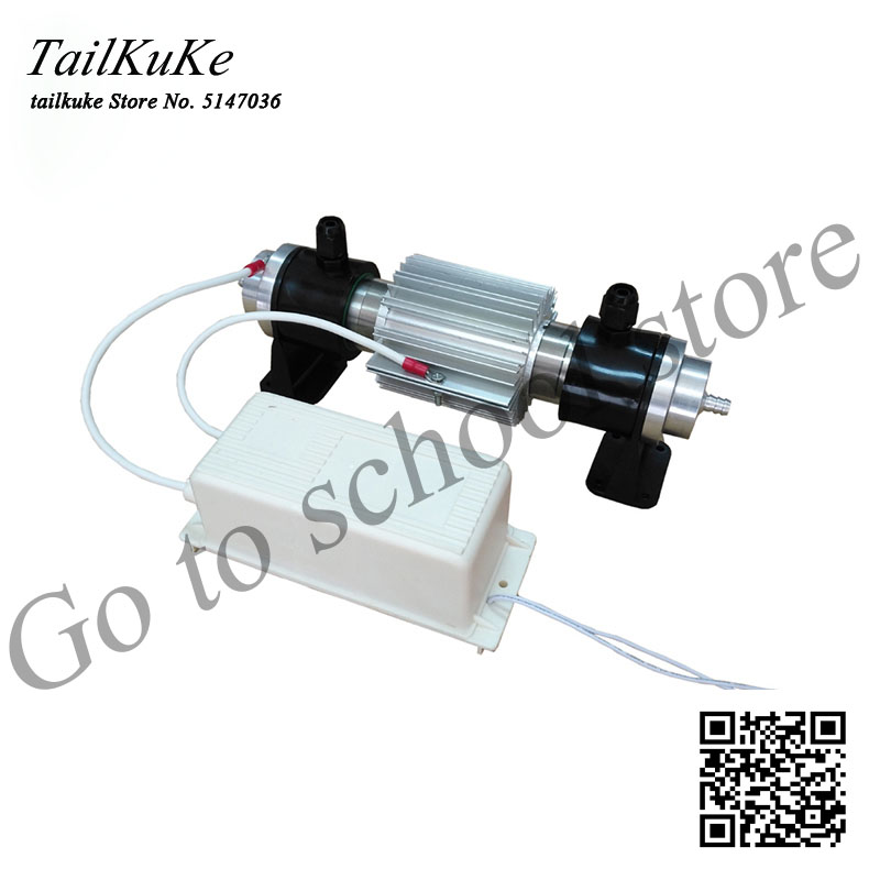 10G Water-cooled Ozone Generator +220V Module Power Supply Raw Water Treatment Sterilization Ozone Disinfection Accessories