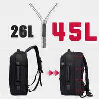 Anti Theft Large Travel Backpack 17 Laptop Women Men Male Backpacks 15.6 Notebook USB Charging Bag Back Pack Waterpoorf Bagpack