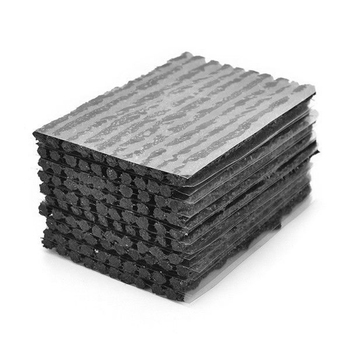 100pcs Tubeless Tire Repair Strips Stirring Glue Tyre Puncture Emergency Repairing Rubber Strips For Auto Car Bike Motorcycle portable tubeless tire repair kit tire changer tyre repair for bike motorcycle with glue 48pcs set free shipping