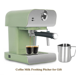 ITOP 20Bar Household Automatic Coffee Maker Cappuccino Milk Foam Espresso Coffee Machine With a Coffee Milk Frothing Pitcher