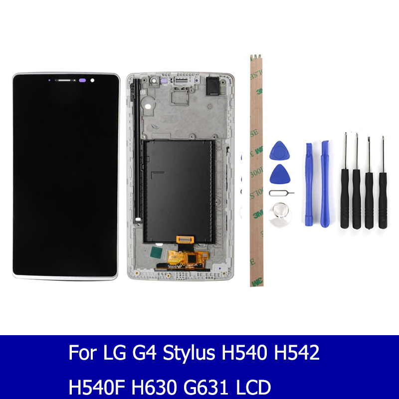 Original Quality For LG G4 Stylus H540 H542 H540F H63 Lcd Display Touch Screen Panel Digitizer Assembly Screen Replacement Parts image