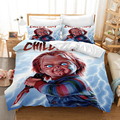 Комплект постельного белья в американском стиле с объемным изображением фильма ужасов  пододеяльники  детские игровые одеяла  постельное б...