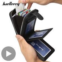 Cartera pequeña y corta para hombre, monedero para tarjetas de crédito y de negocios, tarjetero, bolsa para dinero, Partmone Vallet Walet Tost
