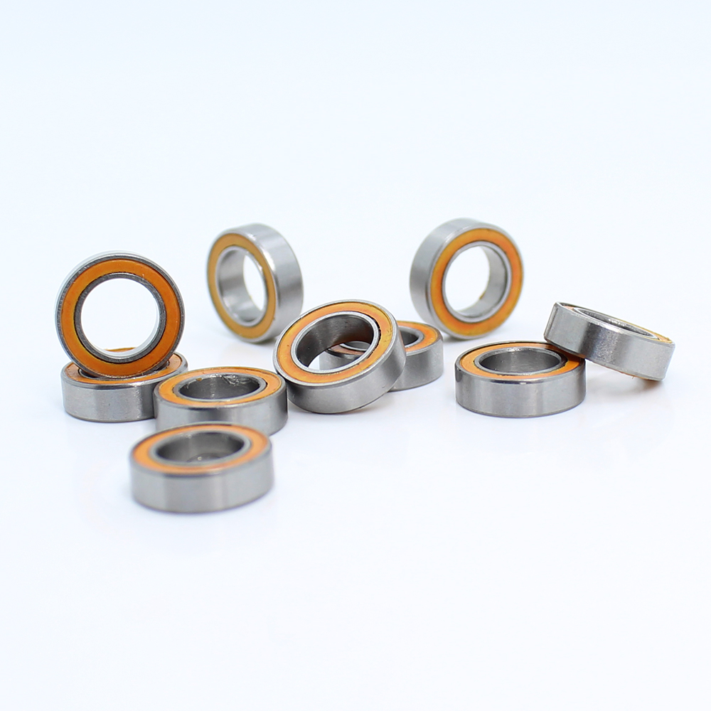 Black Lot of 10 PCS Ball Bearings MR106-2RS 6*10*3 6x10x3 mm Rubber Sealed