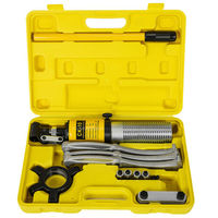 Free shipping 10 Ton Hydraulic Bearing Separator Hub Puller with 2/3 Jaws Gear Garage Hand Tool Set Kit with Tool Case