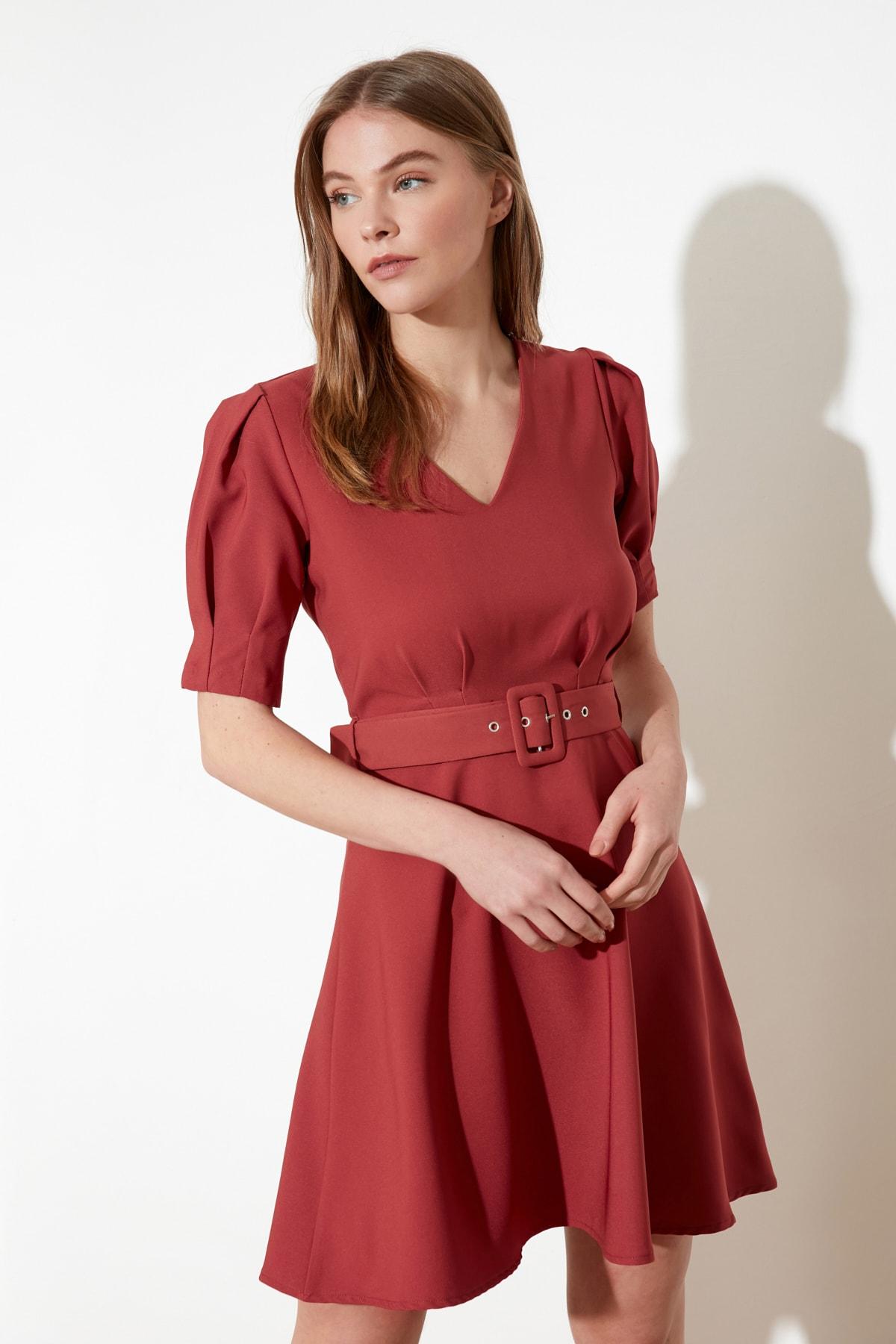 Trendyol Arched Dress TWOSS20EL0986