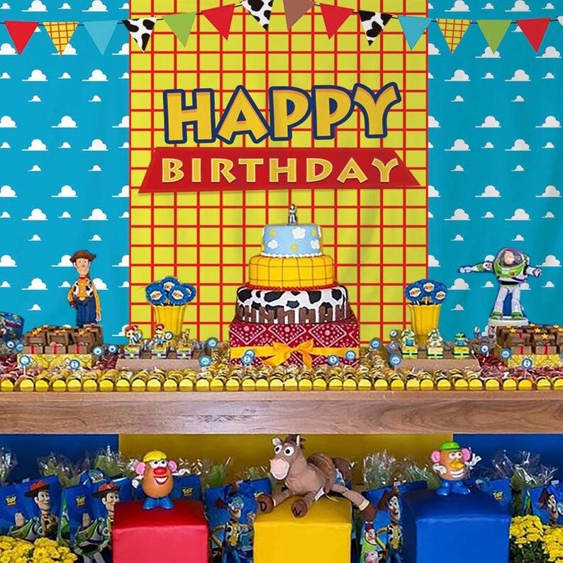 Happy Birthday Toy Story Banner