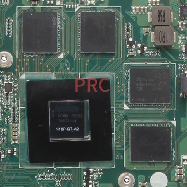 لشركة أيسر أسباير E5-575G I5-7200U نابوتوب اللوحة الأم DAZAAMB16E0 N16P-GT-A2 DDR3 دفتر اللوحة الرئيسية