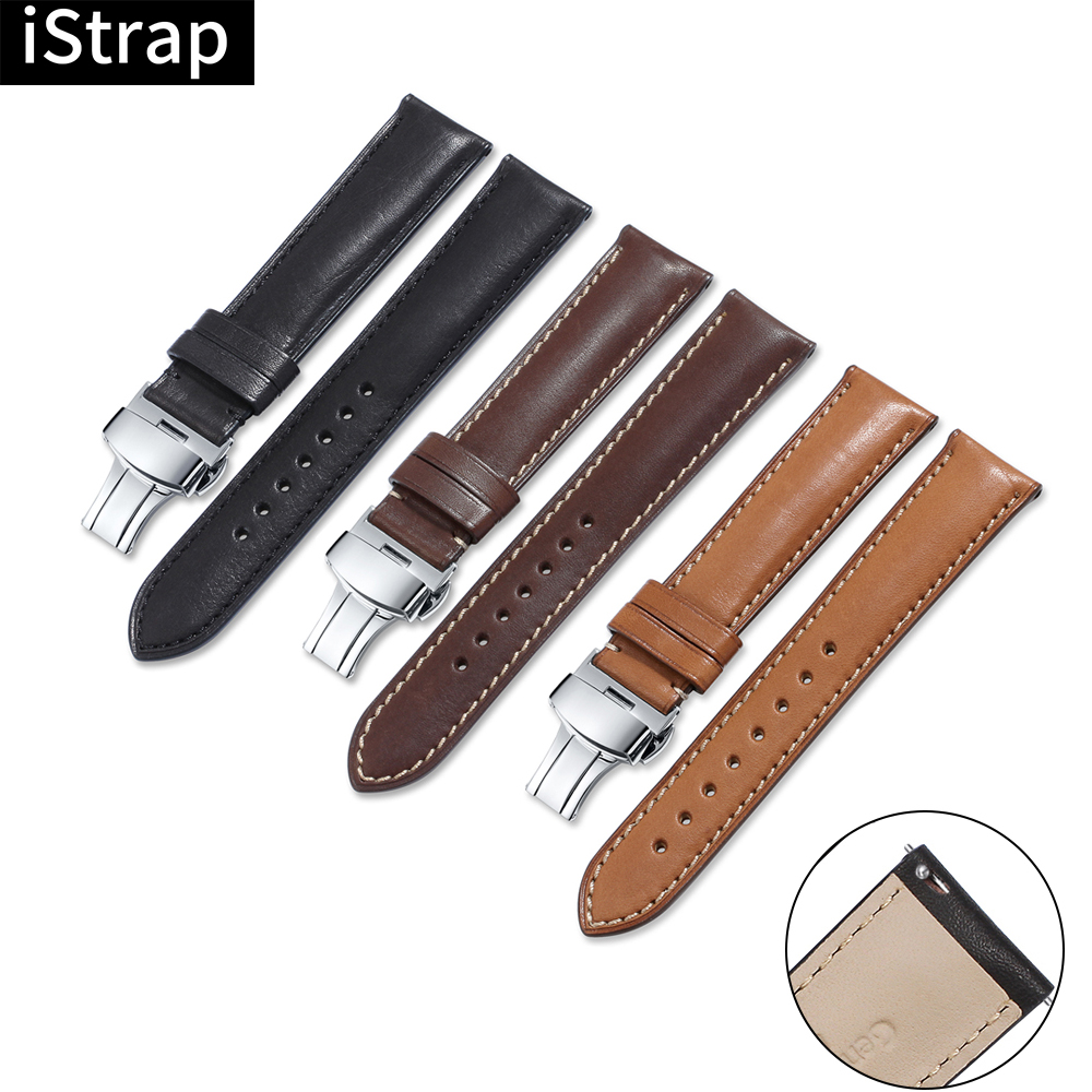 iStrap Watch Strap Quick Release Watch Band 16mm 18mm 19mm 20mm 21mm 22mm 24mm Deployment Buckle for Omega Tissot Seiko Casio-in Watchbands from Watches on AliExpress - 11.11_Double 11_Singles' Day 1