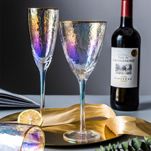 Utensils Water-Champagne-Glasses Crystal Wedding-Party-Goblet Kitchen Colorful Phnom