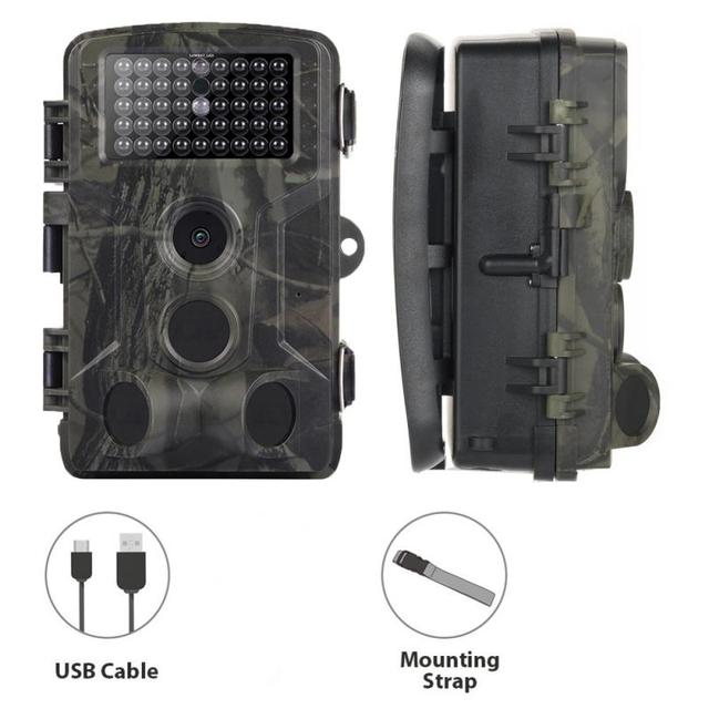 Multi  Hunting Camera 1080P Wildlife Trail Camera 16MP Photo Trap Infrared HC802A Wireless Surveillance Tracking  Scouting  Cams