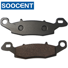 Front and Rear Brake Pads for Kawasaki KLE 650 KLE650 Versys 07-13 ER6F ER-6F 06-13 ER6N ER-6N 06-13 Z750 Z750S ZR750 04-07 for kawasaki z900 z650 versys 1000 650 versys kle650 er 6n vulcan s brake master cylinder mirror mount clamp cover aluminum