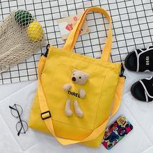 Повседневная сумка на плечо в японском стиле для женщин студенческие