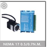 42 circuito cerrado híbrido controlador de Motor paso a paso 0.55nm 0.7nm Servo Motor de bucle cerrado motor paso a HBS57(S) de controlador de motor paso a paso Nema 17