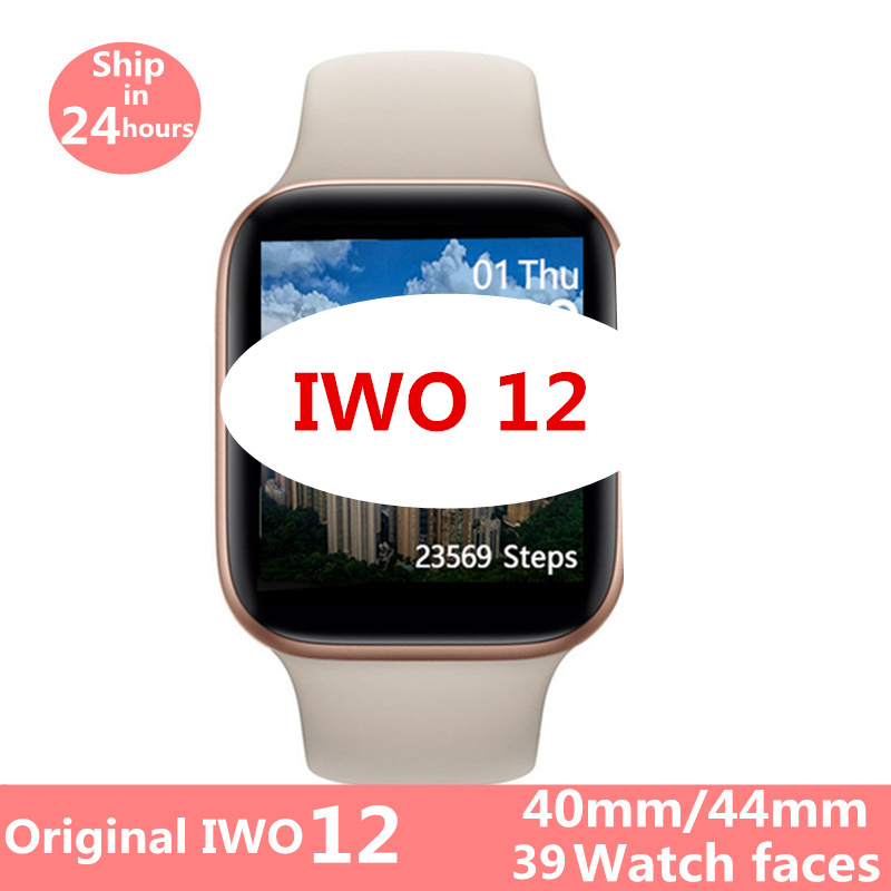 Smart Watch <font><b>IWO</b></font> 12 Pro series 5 IWO12 40MM <font><b>44MM</b></font> <font><b>Smartwatch</b></font> Men Women ECG Heart Rate Monitor Can Answer Call Watches VS <font><b>IWO</b></font> <font><b>8</b></font> image