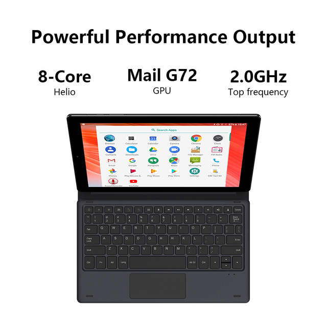 CHUWI HiPad X  10.1 inch FHD Android 10.0 Tablet PC Helio MT8788 Octa core 4GB RAM 128G ROM  4G LTE  Phone Call Tablet 3