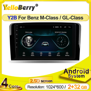 2.5D screen android Car radio GPS Navigation Player Stereo for Mercedes-Benz M-Class W164 GL-Class X164 ML GL ML350 ML500 GL320
