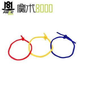 Тройная веревка, три цвета, соединительные канаты, магический трюк, красный, желтый, синий, магический реквизит, забавные профессиональные а...