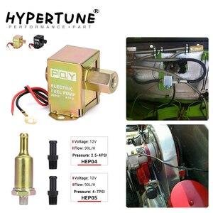 Image 1 - Universal 12v eletrônico bomba de combustível em linha 4 7psi alta pressão 90lph gasolina gás diesel compatível 40104 40106 40107 p502