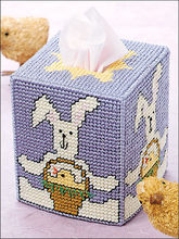 A184 DIY 7ct Craft Stich Cross Stitch Needlework Embroidery Crafts Plastic Canvas Set Standard Tissue Box Cover Kit Package(China)