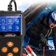 Автомобильный тестер батарей KONNWEI KW600 12 в 100-2000cca 12 вольт инструменты для быстрой зарядки автомобиля диагностический