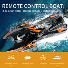 1/30 RC Boat 2.4G Brush Motor Simulate Lobster Electric Remo