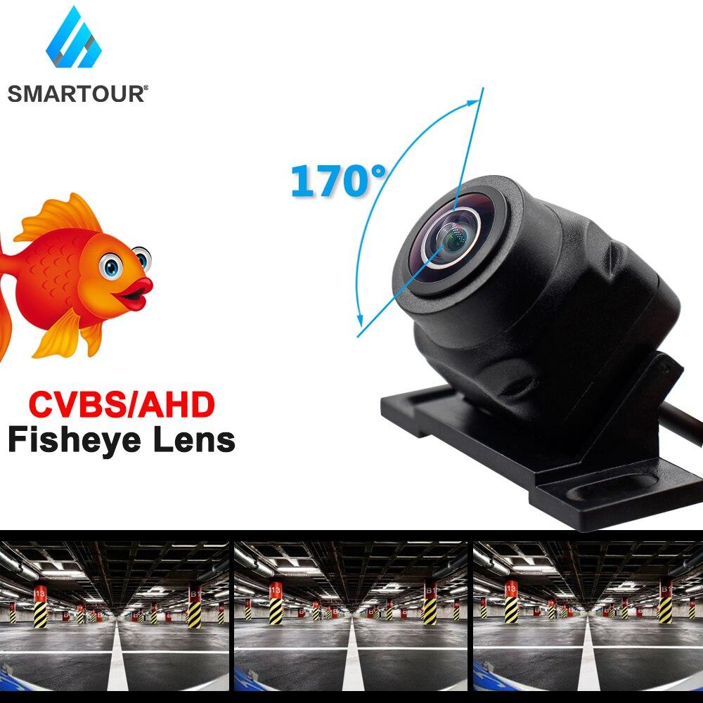 HD AHD 170 градусов объектив рыбий глаз звездный свет Ночное Видение автомобиль передний и задний вид камера заднего вида CCD автомобильная унив...