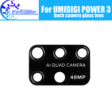 UMIDIGI כוח 3 חזרה מצלמה עדשת זכוכית 100% מקורי חדש אחורי עדשת המצלמה זכוכית אביזרי עבור UMIDIGI כוח 3