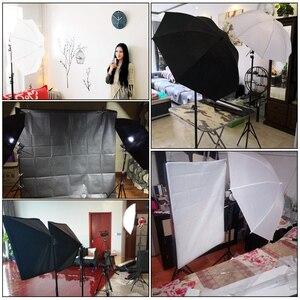 Image 5 - 2M X 3M Achtergrond Support System Softbox Paraplu Kit Voor Foto Studio Product, portret En Video Shoot Fotografie Lichten
