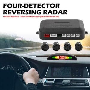 Image 2 - รถParktronic LEDที่จอดรถชุดเซ็นเซอร์สำรองย้อนกลับที่จอดรถเรดาร์ตรวจสอบระบบตรวจจับเซ็นเซอร์4