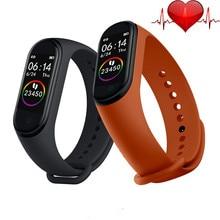 Hot M4 Smart Watch Fitness Bracelet Heart Rate Blood Pressur