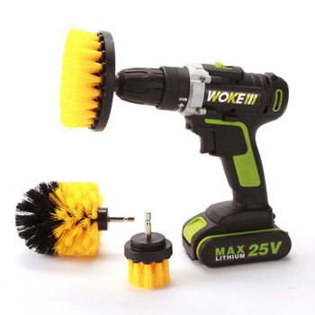 Power Scrubber Brush Drill Brush Clean for Bathroom Surfaces Tub Shower Tile Grout Cordless Power Scrub Cleaning Kit 1