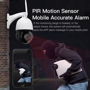 Image 2 - 30X التكبير PTZ الأمن كاميرا IP 1080P HD كاميرا لاسلكية واي فاي في الهواء الطلق مقاوم للماء كشف الحركة الأشعة تحت الحمراء للرؤية الليلية Onvif CCTV كام