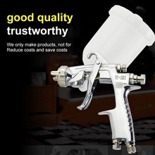 New SPRAY GUN W-101 Air Spray Gun 400cc Cup Hand Manual Spray Gun 1.0/1.3/1.5/1.8mm High Quality W101 Air Spray Gun Power Tools