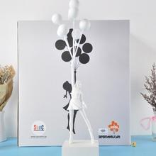 Banksy ballons volants en résine pour filles, Art, décoration artisanale, figurine de noël, luxueuse, cadeau