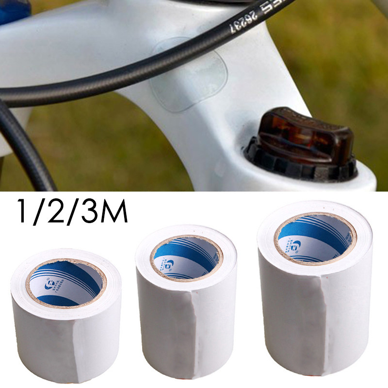 Bicycle Frame Protection Sticker Tape PVC Mountain Film Clear Stickers Tape J6Z2
